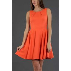 Wallie Formal Dress Orange