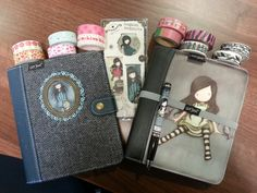 My Gorgeous Gorjuss Planners and bookmarks