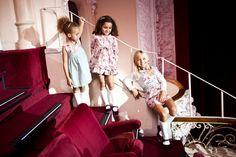 Vestuário para meninas dos 12 meses aos 10 anos