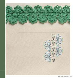 Crochet chart pattern