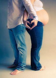 Sesión con Jessica y Jose Manuel - Esperando a Gisela   Flickr: Intercambio de fotos Embarazo / Pregnancy / Pareja / Couple / Luz / Flash / Portrait / Retrato / Fotografía de Estudio / Interior