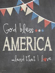Posterazzi God Bless America Canvas Art - Jo Moulton x Summer Chalkboard Art, Chalkboard Doodles, Chalkboard Art Quotes, Blackboard Art, Chalkboard Decor, Chalkboard Drawings, Chalkboard Lettering, Chalkboard Designs, Chalk Drawings