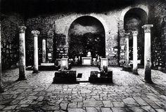 Underground Basilica in Rome's catacombs