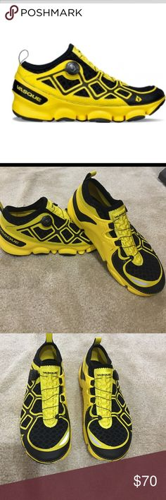 Vasque Ultra SST Trail Running Shoe sz12 Worn once, in perfect condition Vasque Ultra SST Trail Running Shoe - Men's-Maize/Jet Black Sz 12 Vasque Shoes Athletic Shoes