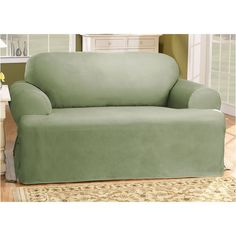 Cotton Duck T Cushion Sofa Slipcover Slipcovers For Chairs Cushions On Sofa Dining Chair Slipcovers