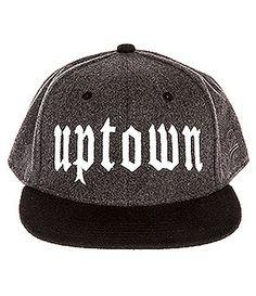 Uptown Wool Snapback