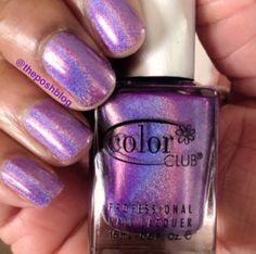 holographic nail polish theposhblog.com