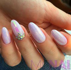 Love my new nails! Mermaid effect!