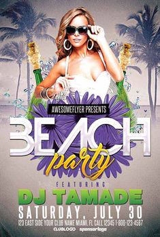 Summer Beach Club Party Free Flyer Template - http://ffflyer.com/summer-beach-club-party-free-flyer-template/ Enjoy downloading the Summer Beach Club Party Free Flyer Template created by Majkol   #Babes, #Beach, #Bikini, #Dj, #Party, #Pool, #Sea, #Summer, #Sun, #Water
