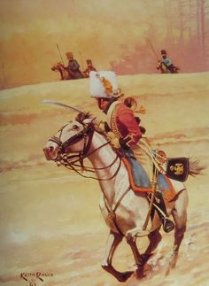 Trumpeter of the Chasseurs a Cheval of the Imperial Guard by Keith Rocco