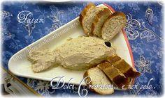 La Spuma di Tonno con Crostini è veramente deliziosa, adatta per uno sfizioso antipasto o per andare ad arricchire un buffet, un finger food, un aperitivo..