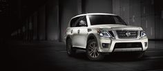 2017 Nissan Armada shown in White, highlighting muscular chrome grille (scheduled via http://www.tailwindapp.com?utm_source=pinterest&utm_medium=twpin&utm_content=post98715075&utm_campaign=scheduler_attribution)