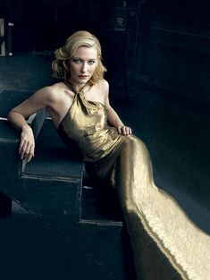 Cate Blanchett Vanity Fair Magazine February 2009 (Cover Photo & Quotes)