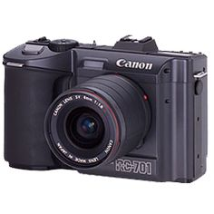 1986 The first analogue electronic camera, the Canon RC-701, hits the market.