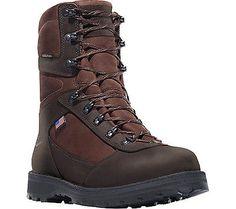 """Danner Men's   East Ridge 8"""" All Leather Brown Full Grain Leather Size 7 2E"""