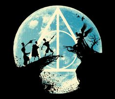Tale of Three | Harry Potter and the Deathly Hallows | Tales of Beedle the Bard | The Tale of Three Brothers | TeeFury