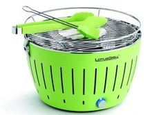 The Lotus Grill: Super Fast Battery Powered BBQ Grill