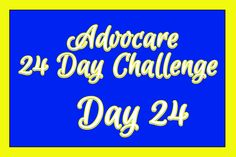Day 24: Taking the Advocare 24 Day Challenge?  Check out this site!!