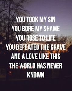 Define Love: GOD!