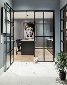 DelightFULL,The most amazing and stylish houses and apartments, interior designer's works. Contemporary home decor… and lighting ideas. Dazzling Design Projects f. Contemporary Interior Design, Decor Interior Design, Interior Decorating, Contemporary Houses, Color Interior, Interior Sketch, Simple Interior, Studio Interior, Interior Plants