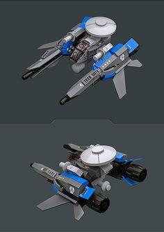 "MATSF-5000E ""Seeker Pack"" by Red Spacecat, via Flickr"