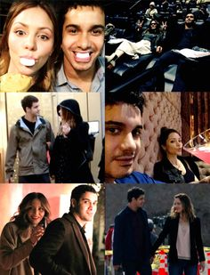 Very much in love-Scorpion Co Stars: Elyes Gabel and Katharine McPhee