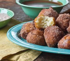 Dessert Recipe: Churros Balls With Warm Chocolate Dipping Sauce Recipes from The Kitchn