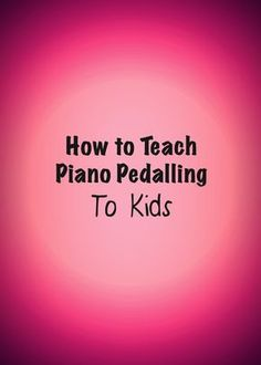 Do you have students who have difficulties with pedalling? Check out this post for some helpful tips!