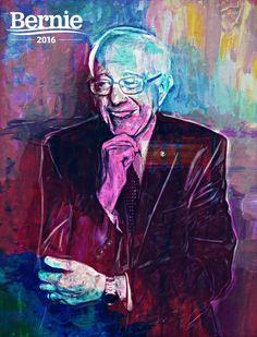 Bernie Sanders Art | Bernie Sanders fan art.