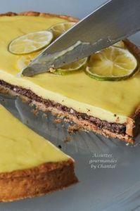 Tarte chocolat citron |