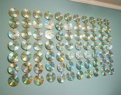 sensory rooms cd wall | CD wall decor will match any color, and can be created for both girl ...