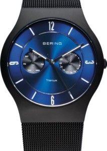 Bering Uhren - Flache Herrenuhren mit Titan und Keramik  #bering #uhren