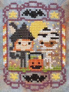 Fun Halloween cross stitch patterns