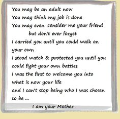 Quote about being a Mother