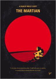 chungkong - No620 My The Martian minimal movie poster