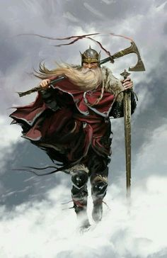 Norse Warrior ¤ | (no details of the artist given) ?