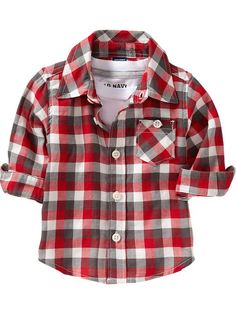 Old Navy | Checked Flannel Shirts for Baby