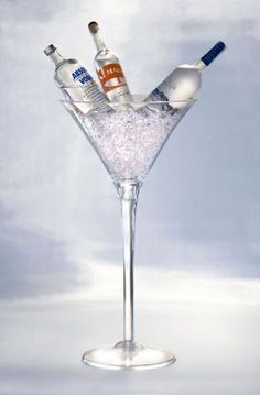 Martini Glasses On Pinterest Glass Centerpiece