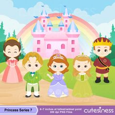 Princess Digital Clipart Princess Clipart Royal family