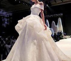 Off The Shoulder Wedding Dress, Chapel Train Wedding Dress, A-Line Wedding Dress, Elegant Wedding Dress, White Wedding Dress, Custom Wedding Dress