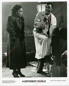 A DIFFERENT WORLD Photo #52 JASMINE GUY Kadeem Hardison