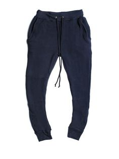 Antique Navy Thermal Sweats | Shadow Hill
