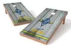 Toledo Rockets Single Cornhole Board - Vintage