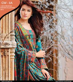 LSM Gorgeous Winter Collection 2015 PKR: 5350 / USD: $54 ☛ {+92-322-3504542} #womenswear #LSM #Wintercollection