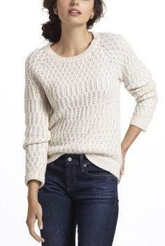 Hamilton Cottage Sweater....anthropologie.com