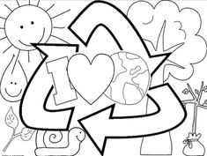 FREEBIE EARTH DAY coloring sheets