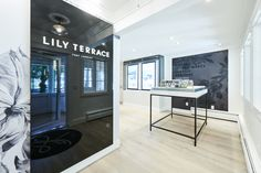 Lily Terrace by Lanstone Homes - Free Agency Creative Home Free, Vancouver, Signage, Terrace, Environment, Typography, Lily, Real Estate, Homes