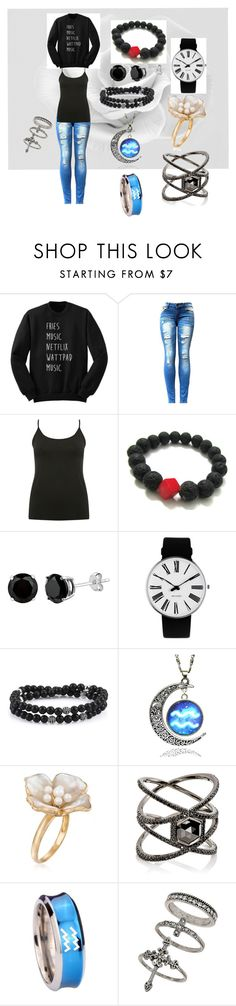 """Alic's Day Out"" by llallharona on Polyvore featuring M&Co, Rosendahl, Ross-Simons, Eva Fehren and Miss Selfridge"