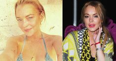 Lindsay Lohan - Photos - Stars caught without makeup - NY . Smoky Eyeshadow, Power Of Makeup, Star Makeup, Bare Face, Top Celebrities, Lindsay Lohan, Without Makeup, Free Makeup, Superstar