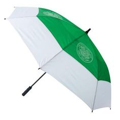 Celtic F C - tourvent double-canopy umbrella - 60 canopy wind resistant - vented lower panels mean this umbrella will not turn inside out - club Umbrellas For Sale, Football Accessories, Golf Umbrella, Football Memorabilia, Soccer Gifts, Celtic Fc, Golf Drivers, Football Fans, London Football